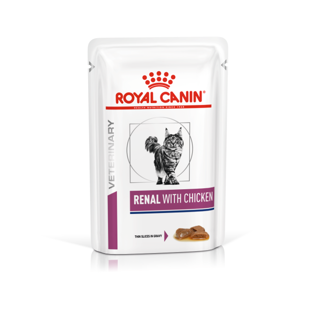 Royal Canin Renal Feline Wet Pouch Chicken