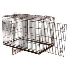 Dogit 2 Door Dog Crate Black