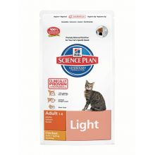 Hills Science Plan Feline Adult Light with Chicken