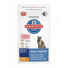 Hills Science Plan Feline Mature Adult 7+ Active Longevity with Chicken