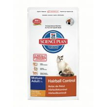 Hills Science Plan Feline Mature Adult 7+ Hairball Control with Chicken