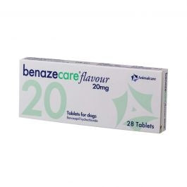 Benazecare Flavour Tablets for Dogs 20mg