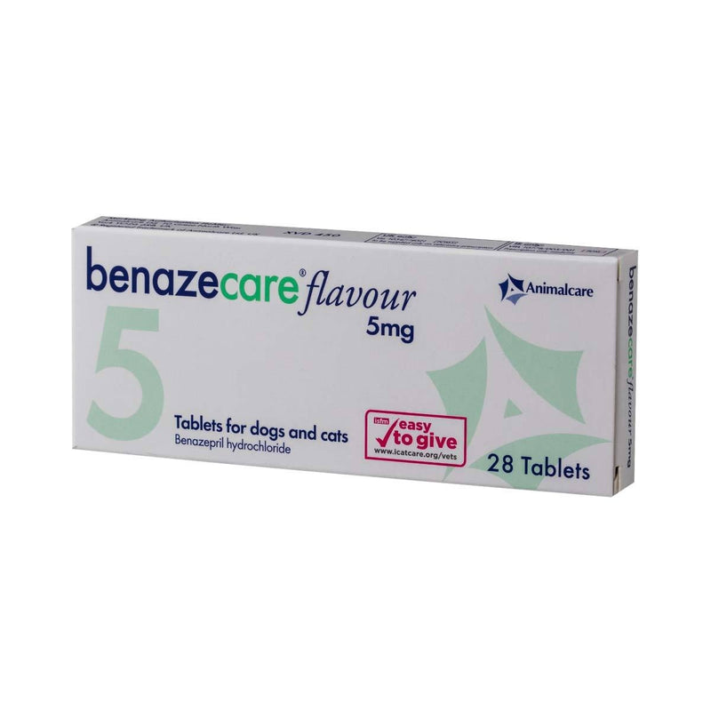 Benazecare Flavour Tablets for Dogs & Cats 5mg