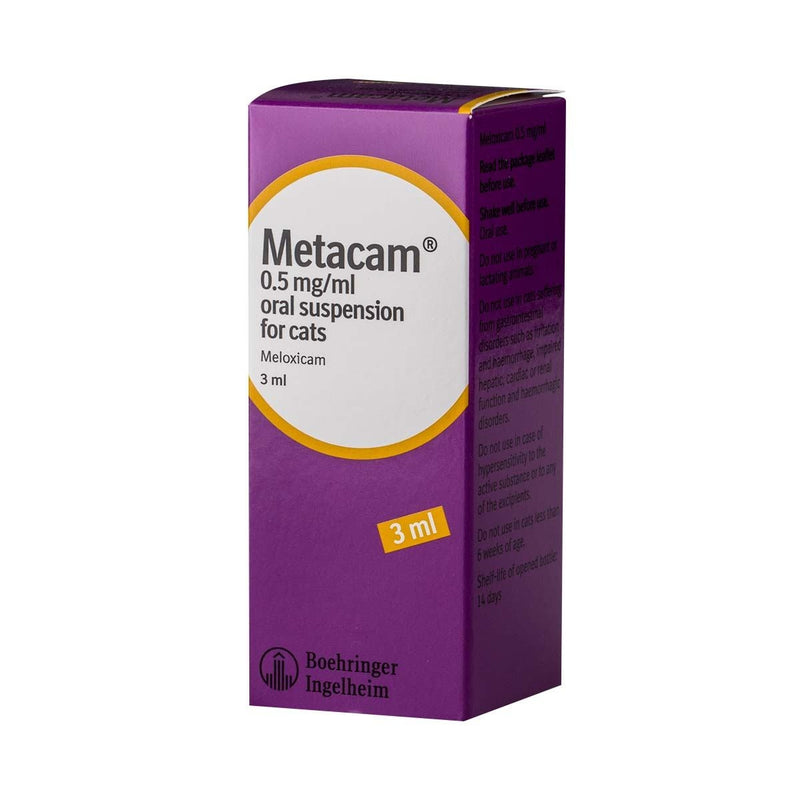 Metacam Oral Suspension for Cats & Guinea Pigs