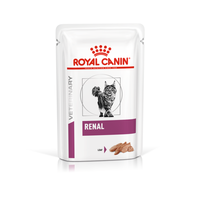 Royal Canin Renal Feline Wet Pouch (Loaf)