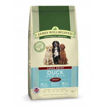 James Wellbeloved Adult Large Breed Duck & Rice