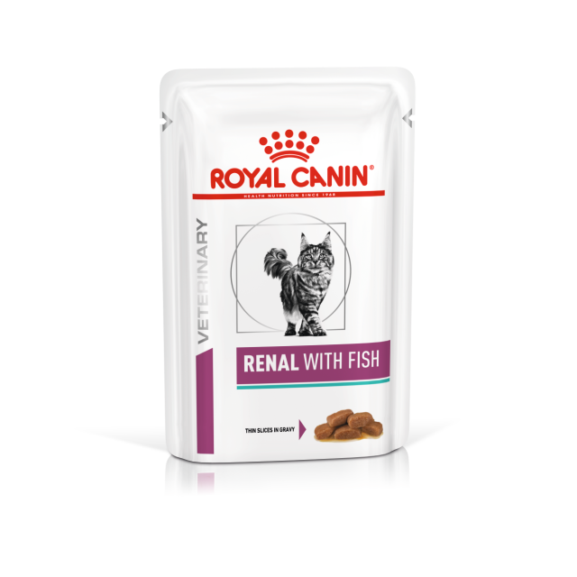 Royal Canin Renal Feline Wet Pouch Fish