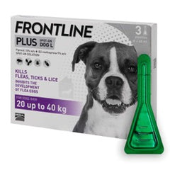 Frontline Plus Spot On Large Dog 20-40kg