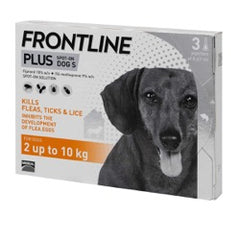 Frontline Plus Spot On Small Dog 2-10kg