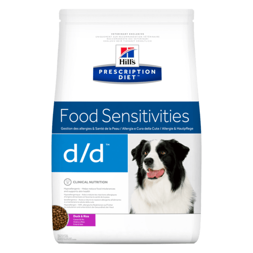 Hills Canine d/d Duck & Rice Dry Food