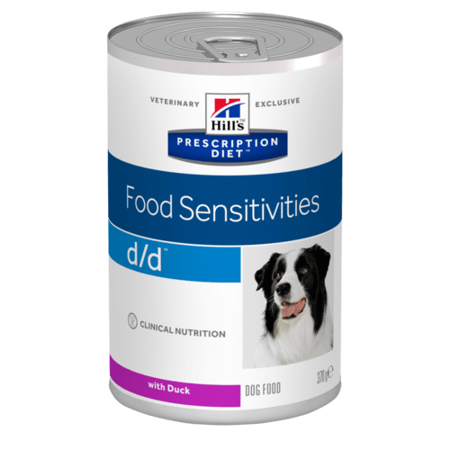 Hills Canine d/d Duck & Rice Wet Food