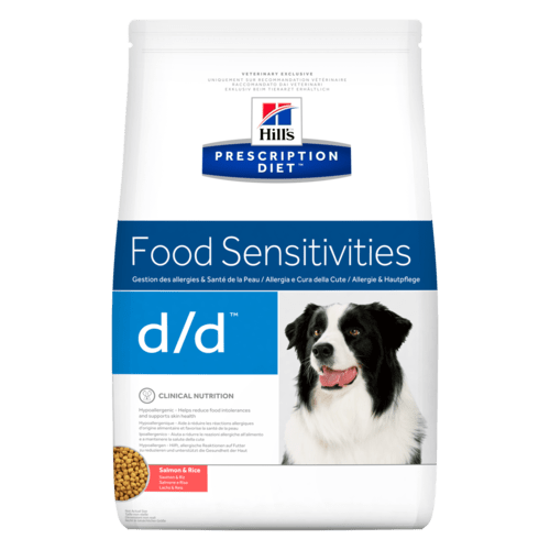 Hills Canine d/d Salmon & Rice Dry Food