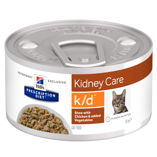 Hills Feline k/d Stew with Chicken and Veg