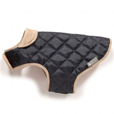 Danish Design Quilted Dog Coat Navy