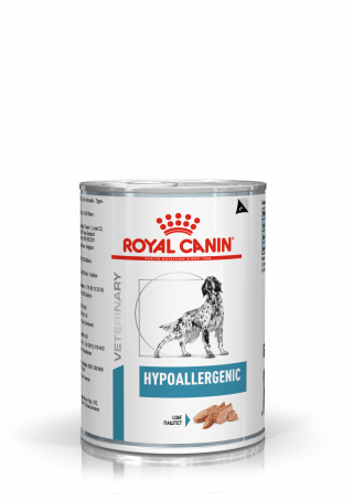 Royal Canin Hypoallergenic Canine Wet Tins