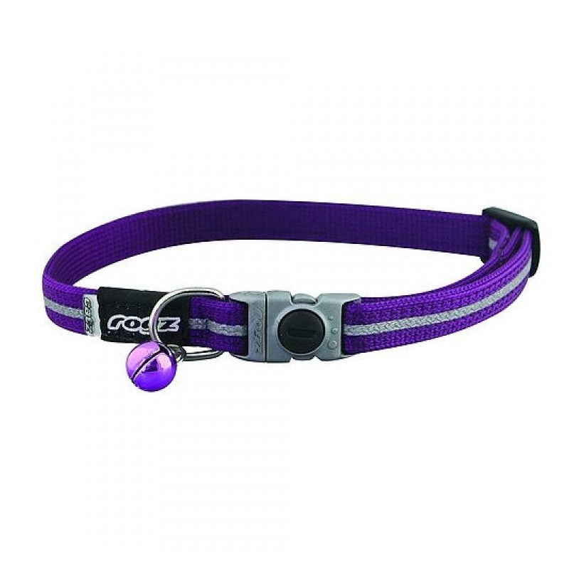 Rogz Alley Cat Collar Purple