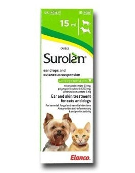 Surolan Ear Drops