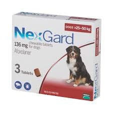 Nexgard Chewable Tablets for Extra Large Dogs