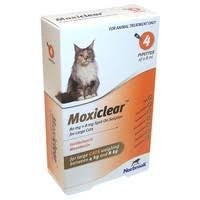 Moxiclear Large Cat >4kg-8kg (4 Pipettes)