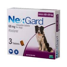 Nexgard Chewable Tablets for Large Dogs 10-25kg