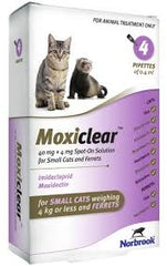 Moxiclear Small Cat & Ferret <4kg