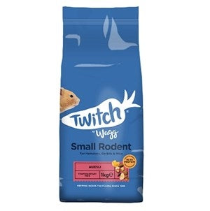 Twitch by Wagg Small Rodent Muesli