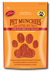 Pet Munchies Chicken Breast Dog Treats 100g