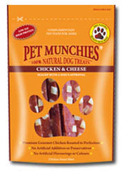Pet Munchies Chicken & Cheese Dog Treats 100g