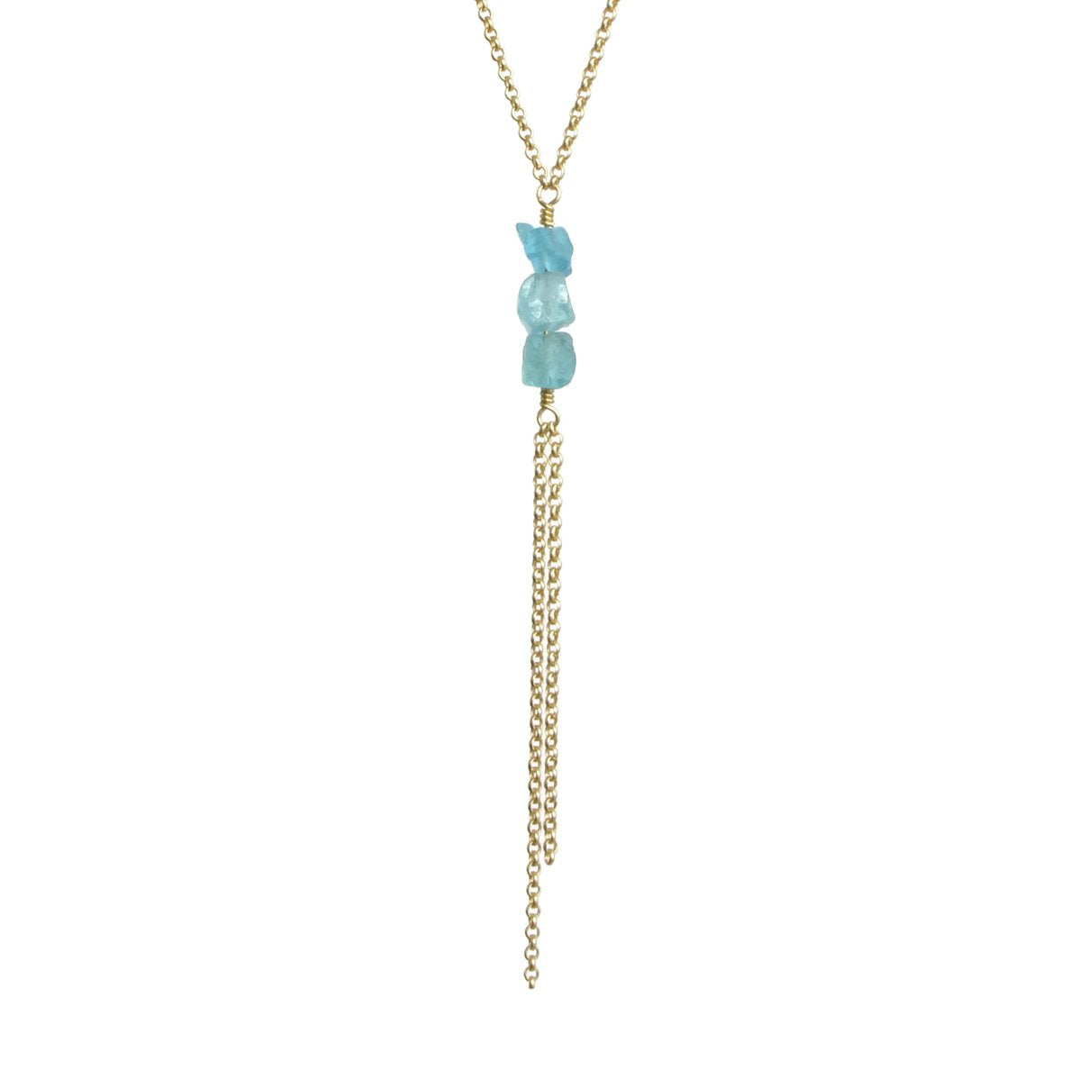 Darya Necklace - Apatite