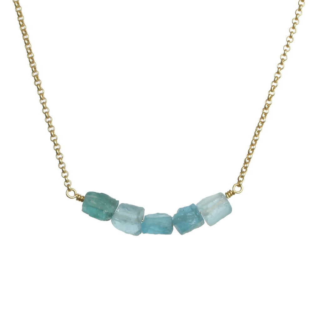 Donya Necklace - Apatite