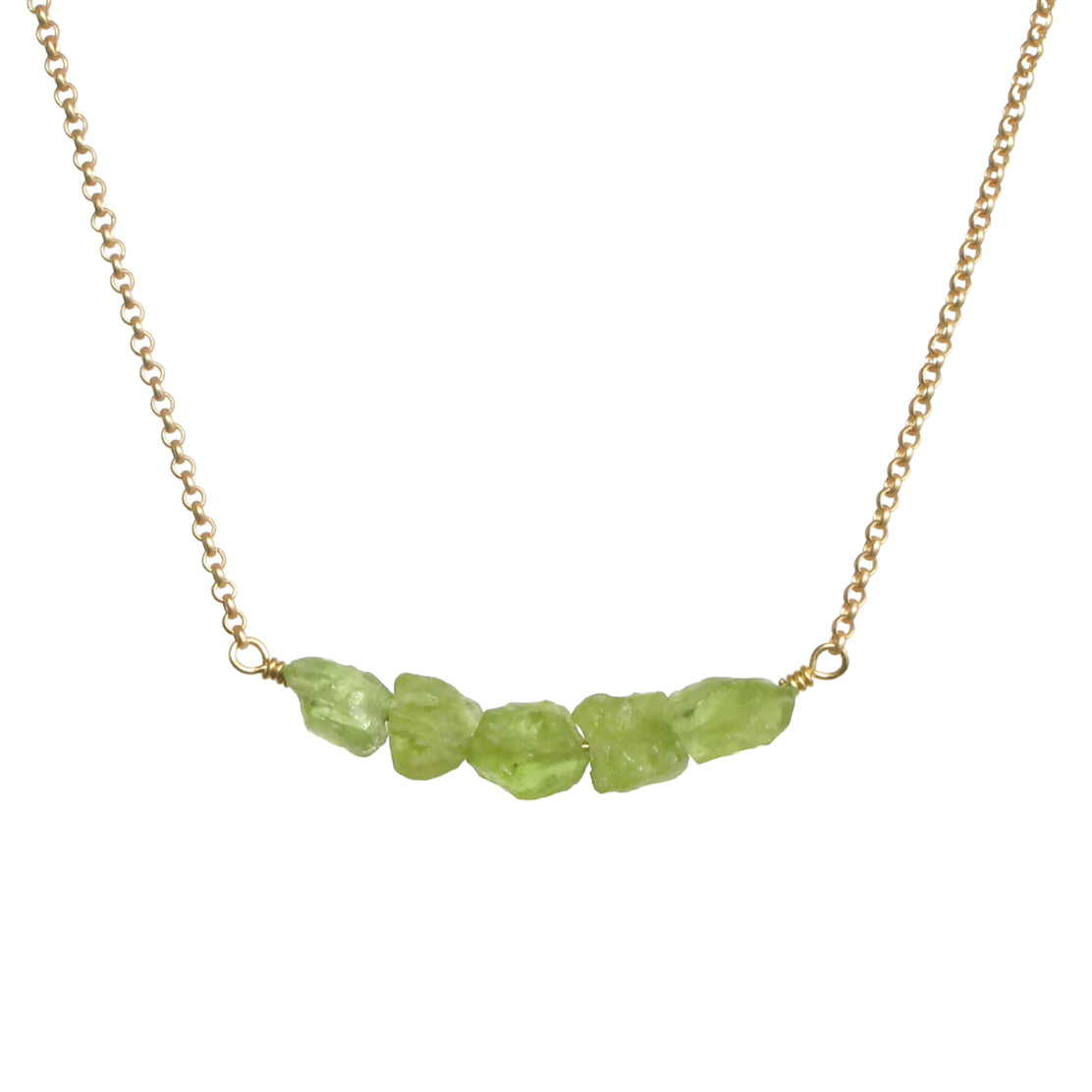 Donya Necklace - Peridot