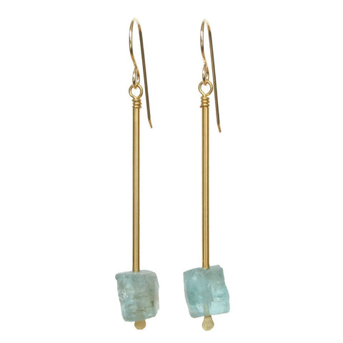 Jana Earrings - Apatite