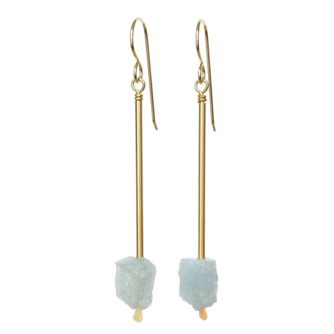 Jana Earrings - Aquamarine