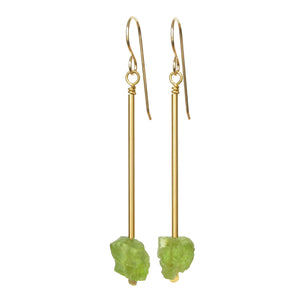 Jana Earrings - Peridot