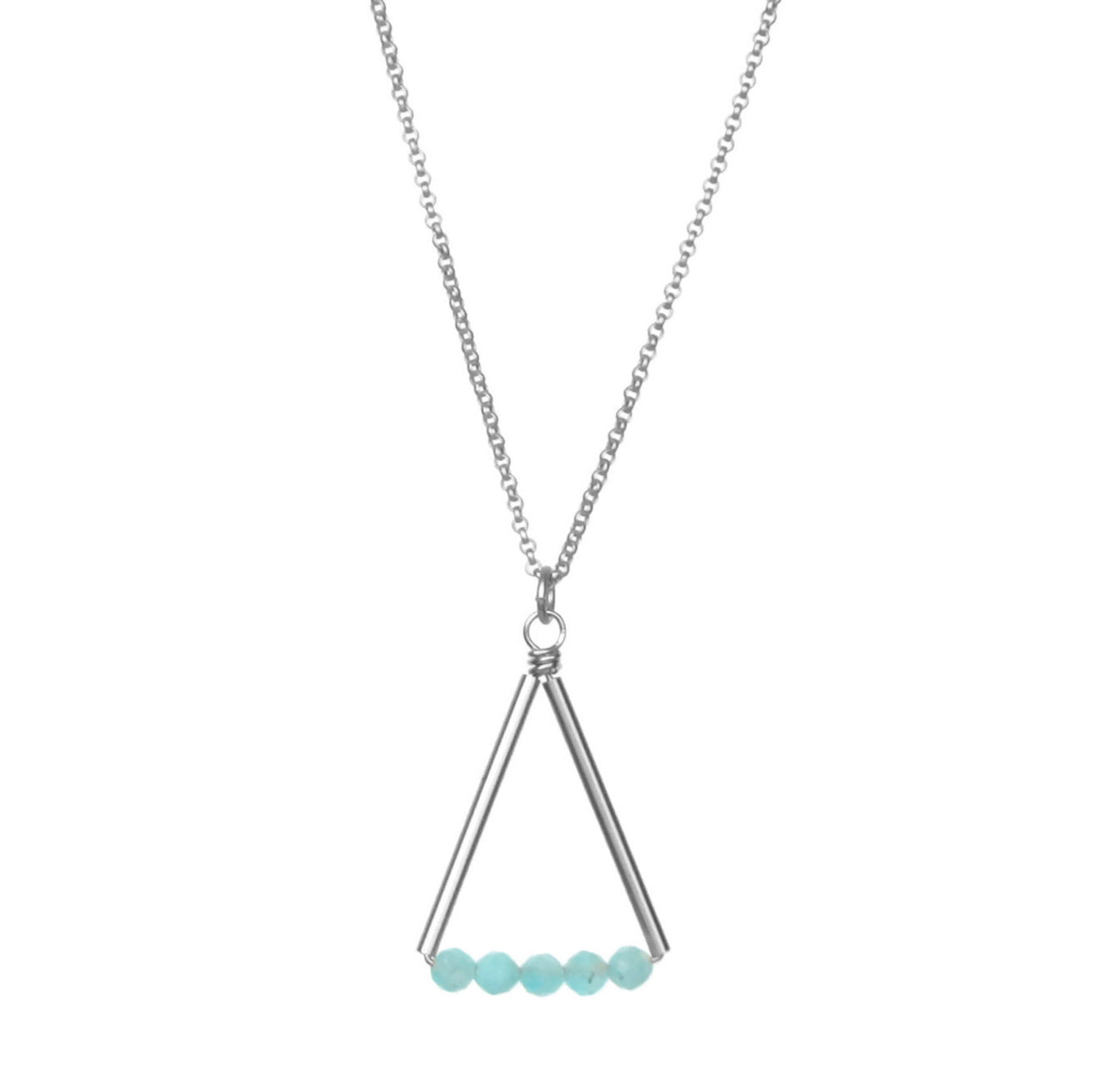 Kaylyn Necklace - Silver