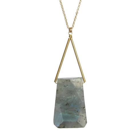Lago Necklace - Labradorite