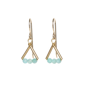 Lin Earrings - Gold