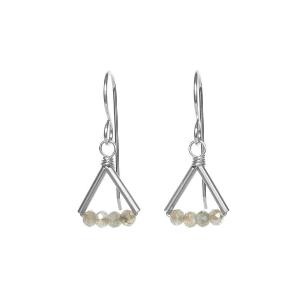 Lin Earrings - Silver