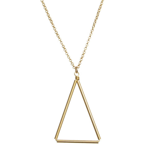 Medium Triangle Necklace
