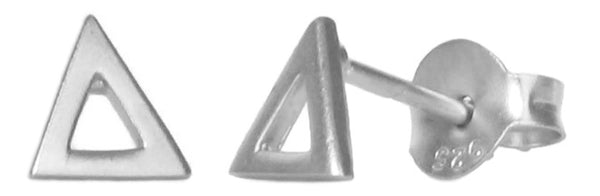 Open Triangle Studs