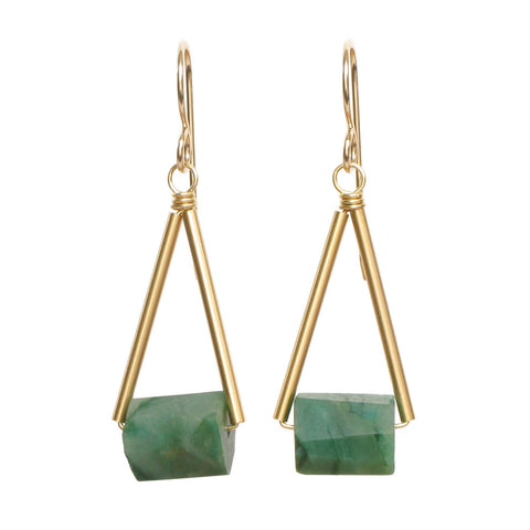 Pavi Earrings - Jade