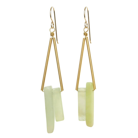 Reese Earrings - Jade