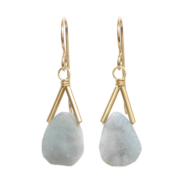 Rio Earrings - Aquamarine