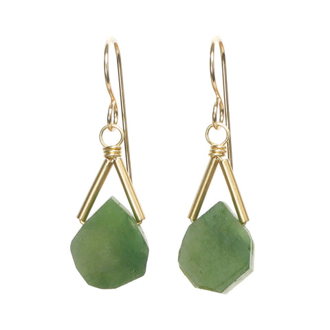 Rio Earrings - Jade