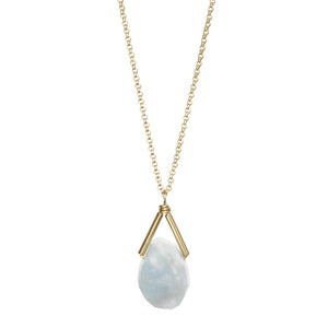 Rio Necklace - Aquamarine