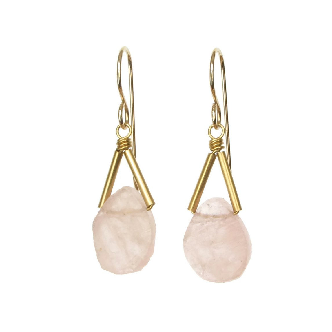 Rio Earrings - Morganite