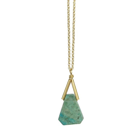 Rio Necklace - Chrysocolla