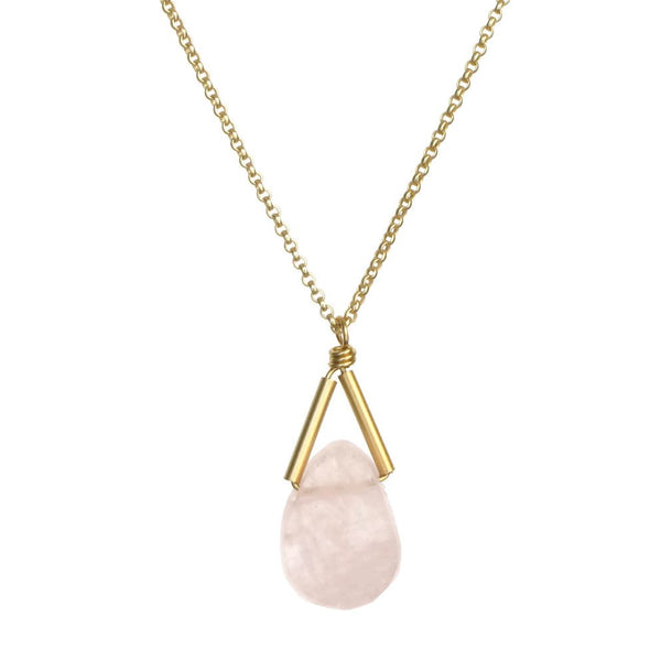 Rio Necklace - Morganite