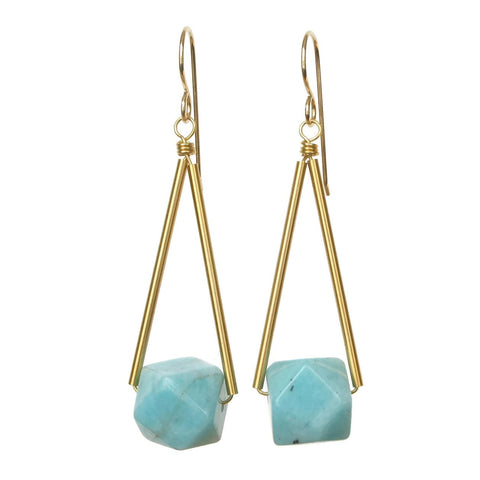 Sana Earrings - Apatite