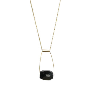 Taryn Necklace - Black Onyx
